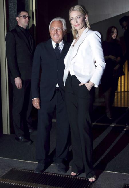 Armani Cate Blanchett