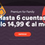 Spotify mejora su plan familiar: ahora sale un 50% más barato e incluye 6 miembros