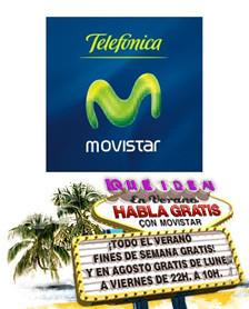 Promoción de verano Movistar: llamadas gratis los fines de semana