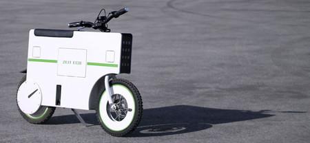 ZeitEco: un scooter eléctrico futurista busca financiación