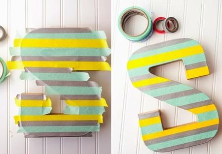 La semana decorativa manualidades con washi tape - Como decorar con washi tape ...