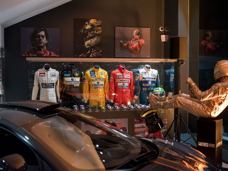 McLaren Barcelona colección monos Ayrton Senna