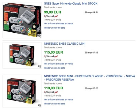 Snes Mini Ebay