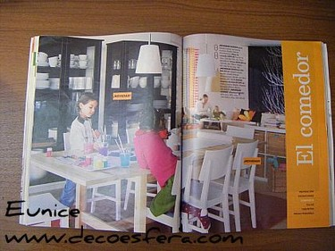 Catálogo de Ikea 2008: Las mejores ideas de Ikea para tus comedores