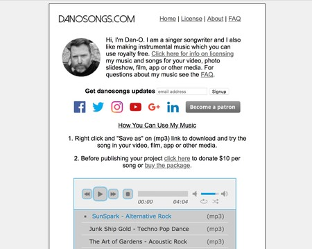 Window Y Royalty Free Music Songs Danosongs Com