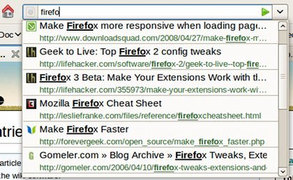 Firefox - Sugerencias
