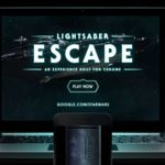 Google convierte tu móvil en un sable de luz con este experimento de Chrome basado en Star Wars