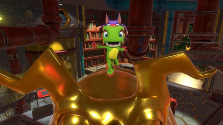 Yooka-Laylee tiene un nuevo y colorido tráiler donde nos mostrara algunas mecánicas del juego