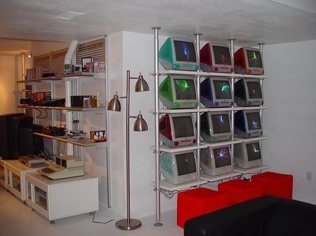 Colección de Macs impresionante