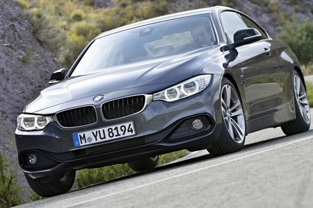 BMW Serie 4 Coupé Toma cercana