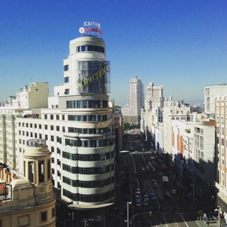 Gran Vía de Madrid vista desde la altura (y gratis)
