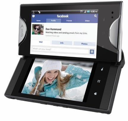 Kyocera Echo, un cuidado Android con doble pantalla táctil
