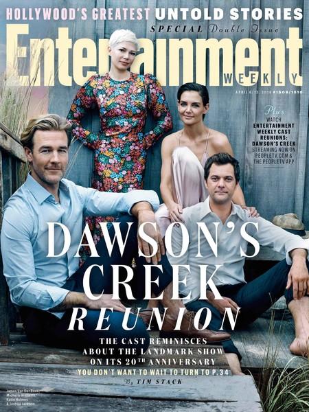 Veinte años después el cast de Dawson's Creek se reúne para Entertainment Weekly