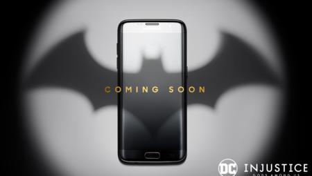 Samsung lanza una edición especial del Galaxy S7 inspirado en Batman