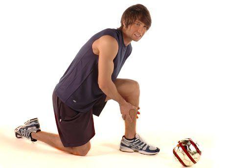 Contractura muscular atras de la rodilla