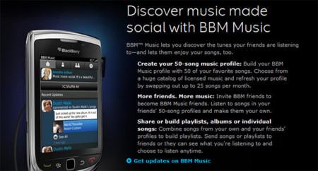 BlackBerry anuncia el cierre de BBM Music