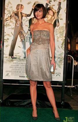 Katie Holmes es muy elegante pero...