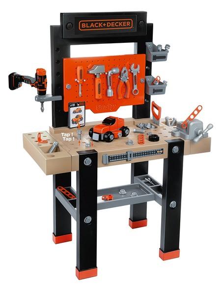 El set de Smoby - Black & Decker banco herramientas de juguete cuesta 49,55 euros con envío gratis en Amazon