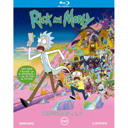 Rick And Morty Temporadas 1 3 Blu Ray