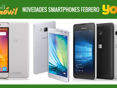 Precios Samsung Galaxy A5 y Galaxy A3 (2016), Microsoft Lumia 550 y ZTE Blade A452 con Yoigo