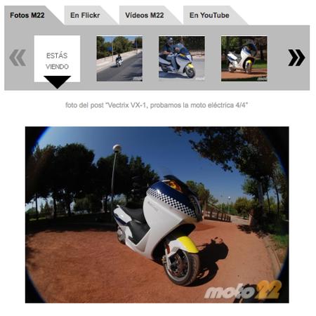 Información sobre tus motos preferidas