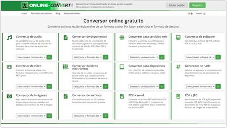 Conversor Online Convertir Gratis Videos Imagen