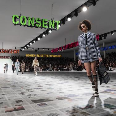 Dior y Burberry regresan a la magia de las pasarelas en formato físico pero sin público