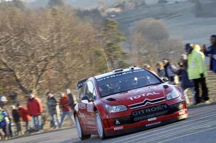 Los Citroën no encuentran rival en el Montecarlo