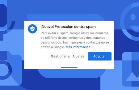 Google Mensajes: su protección contra el spam se activa en España