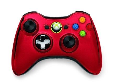 Nuevos mandos de Xbox 360, nuevos colores y pad cromado