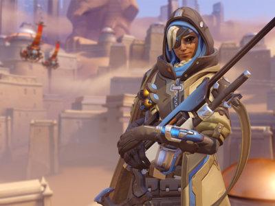 Ana, la nueva francotiradora de Overwatch, ya está disponible en PC