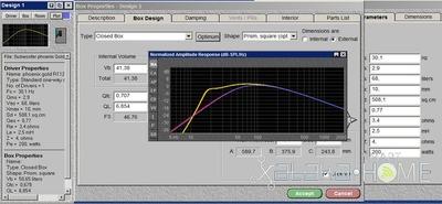 Proyecto SUB-DELTA (II): Diseñando la caja acústica