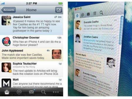 Weet: un nuevo aspirante a mejor cliente de Twitter para iOS y Mac OS X