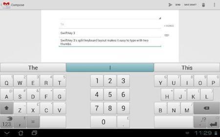 SwiftKey 3 para tablets
