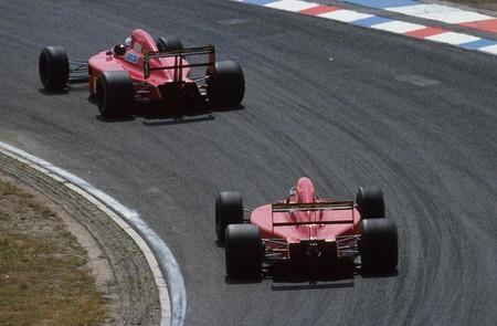 Mansell Prost Ferrari F1