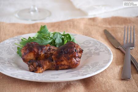 Muslitos De Pollo Al Horno Con Salsa Barbacoa Rapida