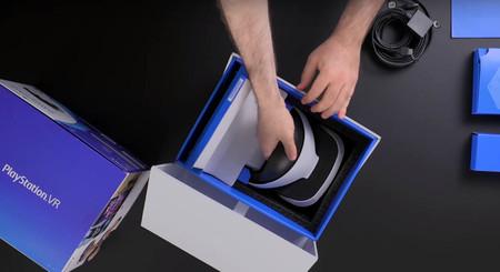 Con este unboxing no tendrás que esperar a la salida de PlayStation VR para ver lo que incluye la caja