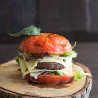 Tomato Burger. Disfruta de una hamburguesa más original