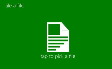 Tile a File App