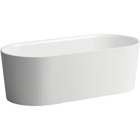 Bañera Laufen VAL 1600x750x520 independiente ovalada blanca - H2302820000001