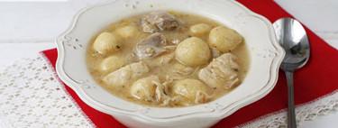 Borí borí con pollo, receta tradicional paraguaya