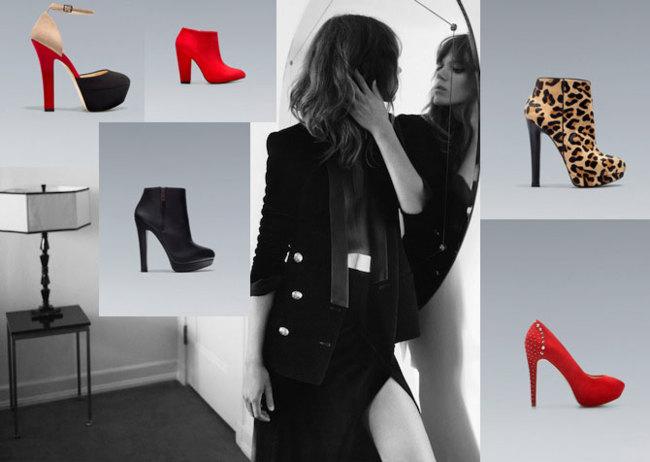 Zapatos Zara 2012/2013