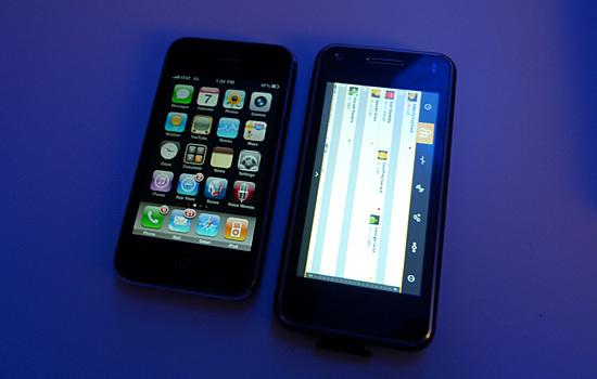 Foto de LG GW990, el primer teléfono con procesador Intel Moorestown (3/8)