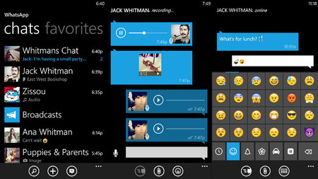 WhatsApp ha vuelto a la Windows Phone Store