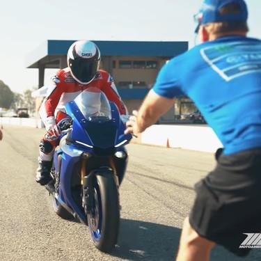 Wayne Rainey ha vuelto a pilotar una moto 26 años después del accidente que le dejó parapléjico