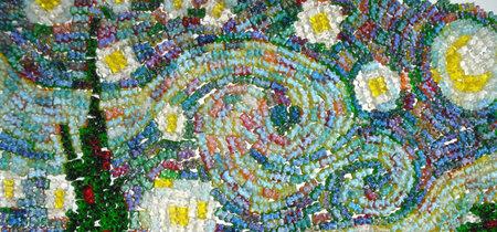 Comida de EsCultura: arte hecho con gomitas de ositos
