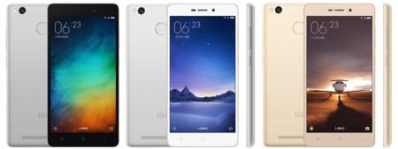 Xiaomi Redmi 3s por 109 euros y envío gratis