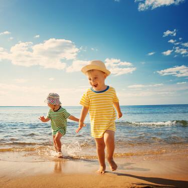 Precauciones en la playa con bebés y niños: siete cosas que debemos vigilar