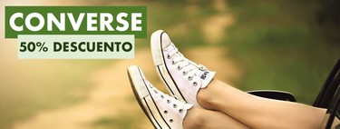 Zapatillas de lona Converse Chuck Taylor All Star a mitad de precio hoy con este cuponazo del 50% en la tienda oficial