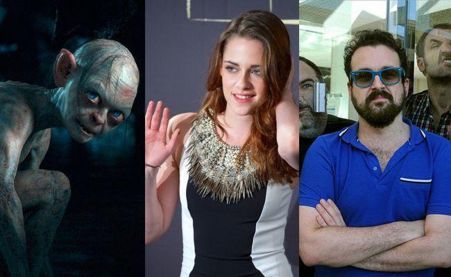 Gollum, Kristen Stewart y Nacho Vigalondo